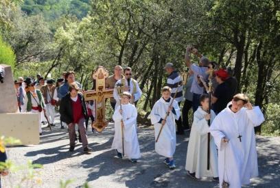 Procession à Sainte-Brigitte 17/04