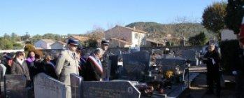 Hommage aux morts en AFN