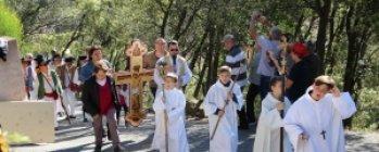 Procession à Sainte-Brigitte