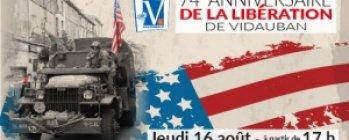 74e Anniversaire de la Libération de Vidauban